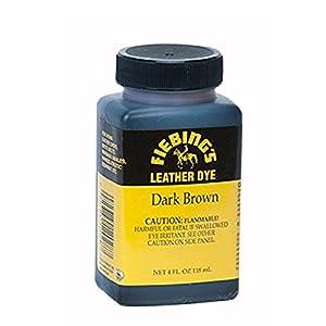 Fiebing's Leather Dye w/ Applicator 4 oz. (Dark Brown)