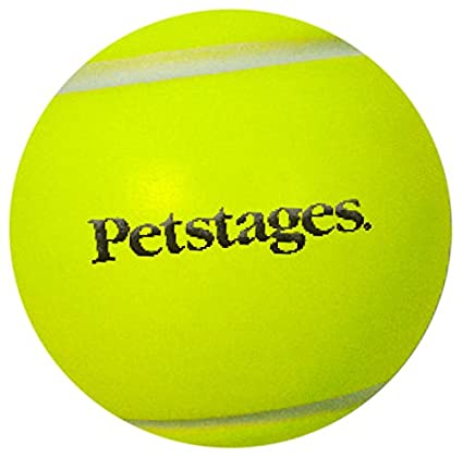 Amazon Com Petstages Super Bounce High Bouncing Tennis Ball Shaped