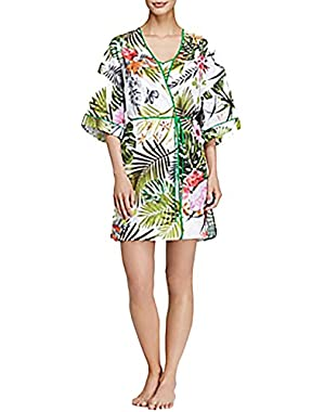 Botanical Spring Robe XS Multicolor