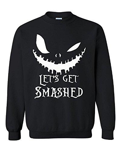Lets Get Smashed Pumpkin Halloween Party Smashing Pumpkins - Adult -