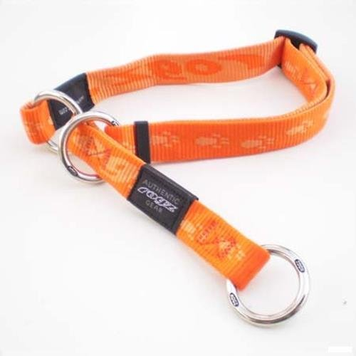 Rogz Alpinist Matterhorn Orange Choker Half-Check - Medium
