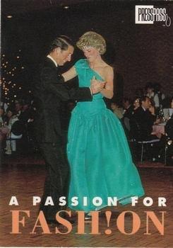 Princess Diana & Prince Charles trading card (Royal Family) 1993 Press Pass #79 passion for - Fashion Warehouse The