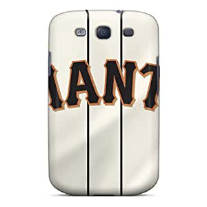 SherriFakhry Samsung Galaxy S3 Excellent Cell-phone Hard Cover Custom Stylish San Francisco Giants Series [XfT18487muaF]
