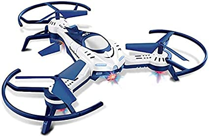 Amazon.com: Brookstone Aviator Quadcopter Helicopter RC Drone for Kids -  Easy to Fly, Hi Tech, Indoor Outdoor Best Drone for Beginners and Pros -  LED Lights 360 Spin and Flip Stunts: Toys