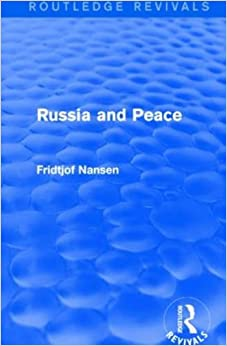 Book Russia and Peace (Routledge Revivals)