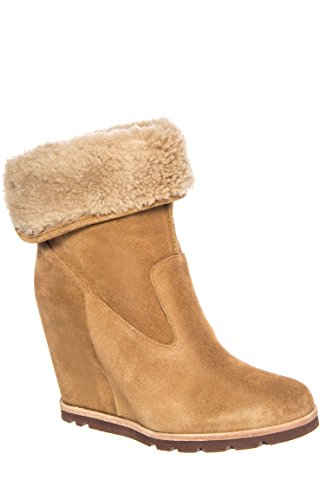 UGG Australia Womens Kyra Boot Chestnut  - Ugg Suede Wedges Shopping Results