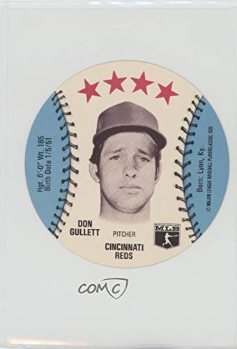 Towne Center - Don Gullett (Baseball Card) 1976 MSA Discs - [Base] - Towne Club Pop Centers #DOGU