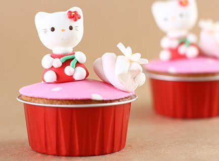 KEISEN 3 2/5'' mini Disposable Aluminum Foil Cups 125ml 100/PK 4OZ for Muffin Cupcake Baking Bake Utility Ramekin Cup (RED)