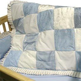 BabyDoll Baby King Blue Cradle Bedding, 15