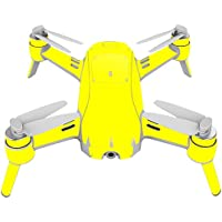 Skin For Yuneec Breeze 4K Drone – Solid Yellow | MightySkins Protective, Durable, and Unique Vinyl Decal wrap cover | Easy To Apply, Remove, and Change Styles | Made in the USA