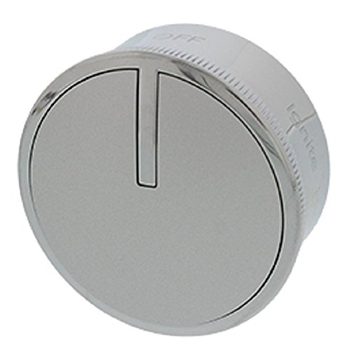 Whirlpool W10766544 Range Control Knob Stainless
