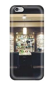 [fidouJI7791gqgoq]premium Phone Case For Iphone 6 Plus/ Semicircular Home Bar With Stools Tpu Case Cover