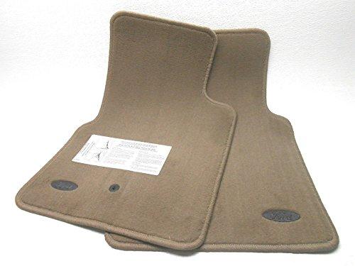 Victoria Interior Crown - Ford NOS New OEM Crown Victoria Floor Mats Front Dark Prairie Tan 1998-2002