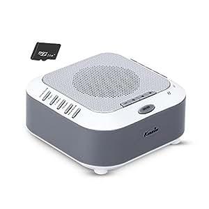 Amazon.com: KEDSUM recargables ruido blanco máquina con 5 ...