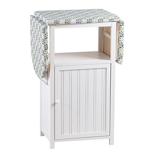 Miles Kimball Deluxe Ironing Board with Storage Cabinet by Oakridge, White by Miles Kimball (Image #3)