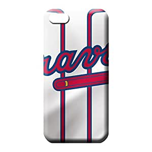 iphone 5c phone carrying shells Specially Excellent Fitted New Arrival Wonderful atlanta braves mlb baseball