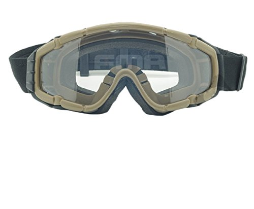 Airsoft Goggle System - OSdream Wind-Shield Goggles Directly-Used Goggles Protective Goggles DE/Mini Fan System
