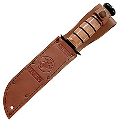 Ka-Bar Full Size US Marine Corps Fighting Knife, Straight