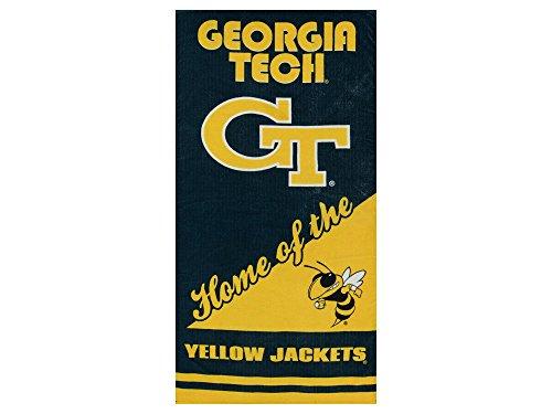 The Northwest Company NCAA Georgia Tech Yellow Jackets Home Style Beach Towel, 30 x 60-inches (Yellow Jackets Beach Towel)