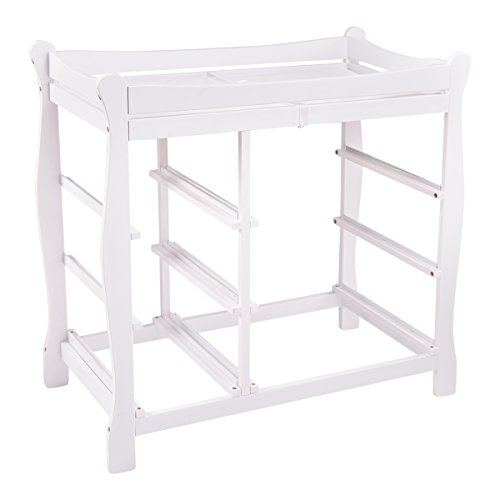 Costzon Baby Changing Table Infant Diaper Nursery Station w/6 Basket Storage Drawers (White) by Costzon (Image #1)