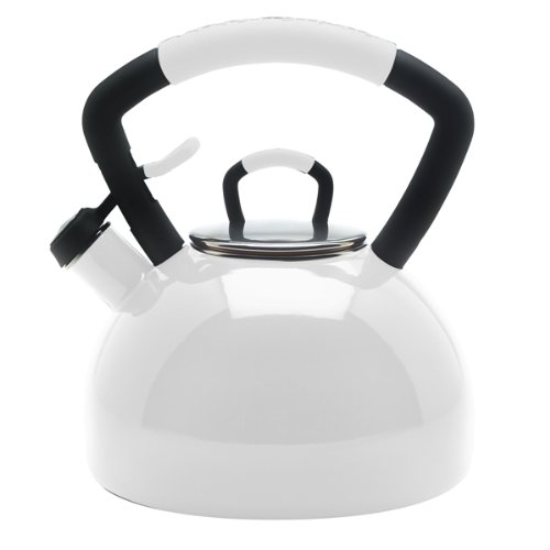 KitchenAid Teakettle 2-1/4-Quart Porcelain Enamel on Steel S