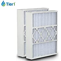 Tier1 16x26x5 MERV 8 White-Rodgers WR-51626-8 Comparable AC Furnace Air Filter - 2 Pack