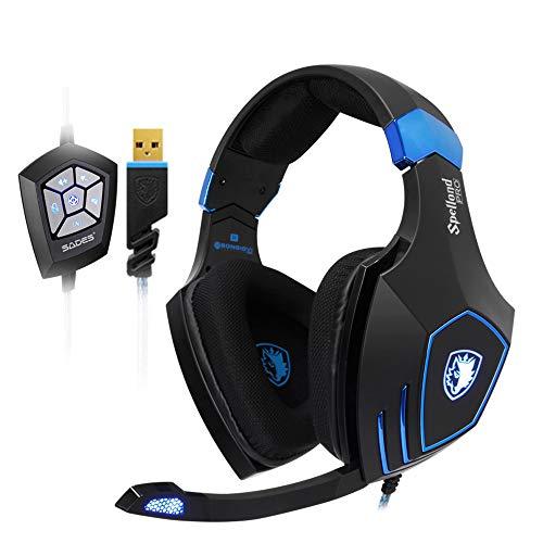 SADES Gaming HeadsetsSPELLOND PRO