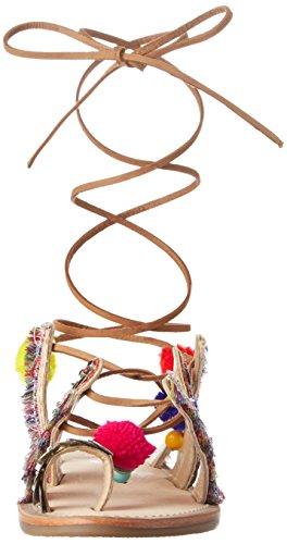 Con multi Multicolor Sandalia Mujer Orient Par Pulsera Para Les Belarbi Tropéziennes M q1YHHT