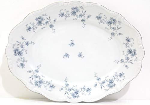 Vintage Johann Haviland Bavaria Germany Blue Garland Pattern 11