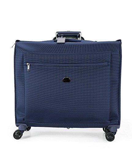 Delsey Luggage Montmartre Spinner Garment Bag Suit Or Dress, Navy - Garment Delsey Nylon Bag