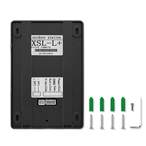 Blesiya 7inch LCD Camera Video Doorbell Intercom Monitor Safety US Standard - Black by Blesiya (Image #2)