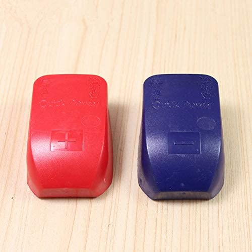 ankunlunbai Quick Release Battery Terminal Clamp Connector Quick Disconnect Terminal 50 * 70 * 100mm, Red/&Blue