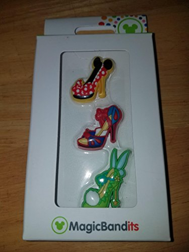 Disney Parks Character Shoe Ornament Magic Band Bandits Set of 3 Charms -