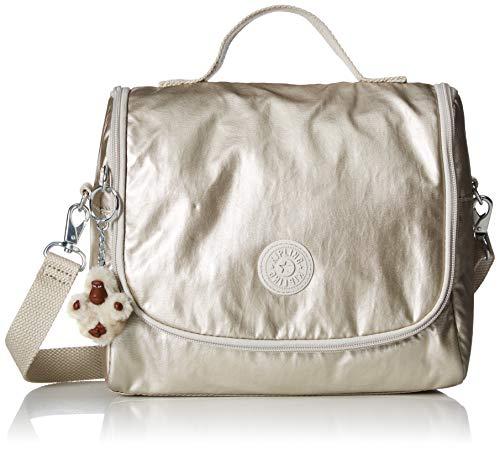 Kipling Kichirou Insulated Lunch Bag, Removable, Adjustable Crossbody Strap, Zip Closure, cloud Grey/Metallic (Best Laptop Brands 2019)
