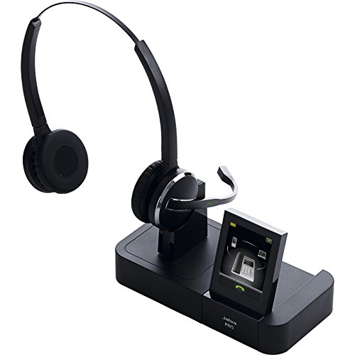 Jabra PRO 9465 Duo Wireless Headset with Touchscreen for Deskphone, Softphone & Mobile Phone by Jabra (Image #2)