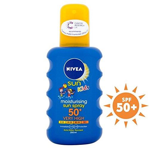Coloré de Nivea Sun Kid spray SPF 50 200ml