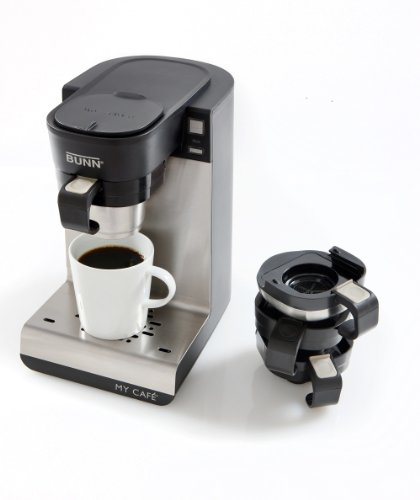 Coffee Makers That Use K Cups : Bunn MCU My Cafe Single Cup Multi-Use K-Cup Coffee Brewer GoSale Price Comparison Results
