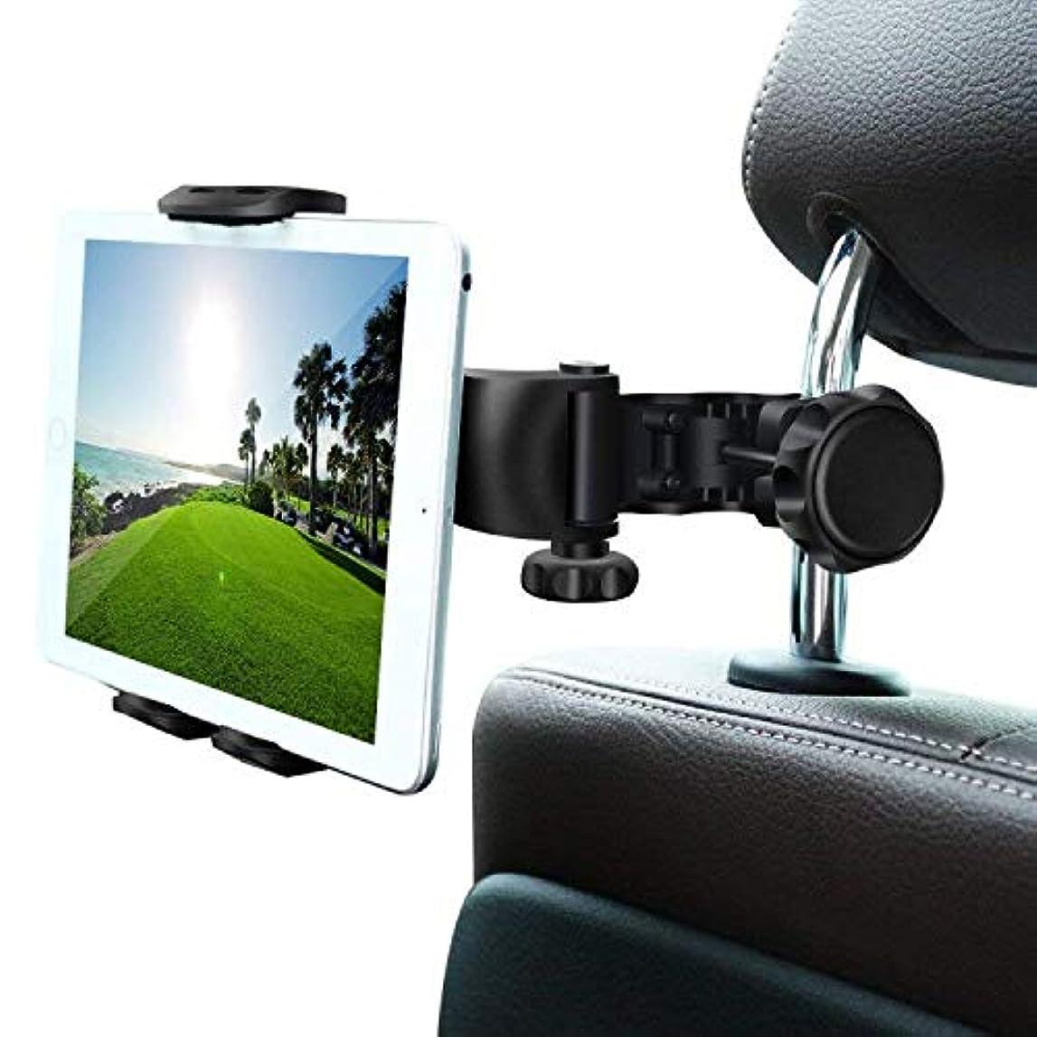 花嫁腸サンワダイレクト iPad タブレット 車載ホルダー 後部座席用 ヘッドレスト設置 7~11インチ対応 3関節アーム 200-CAR044