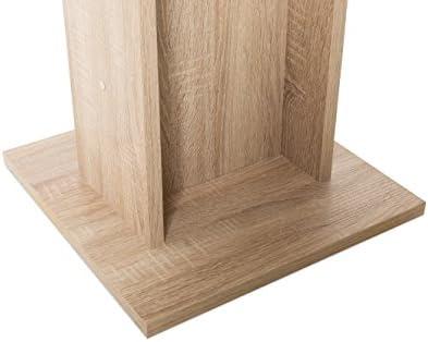 Bois 80 x 80 x 75 cm Ch/êne Sonoma Inter Trade  2425 Table de Salle /à Manger