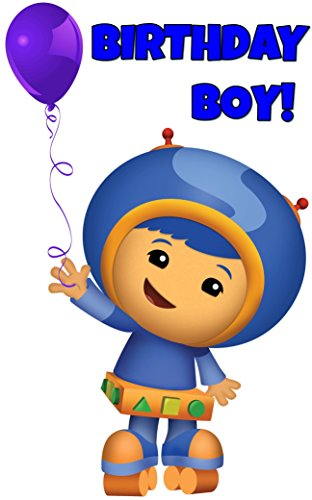 Team Umizoomi - Birthday Boy - For Dark-Colored