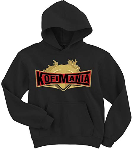 Black Kofi Kingston KofiMania Hooded Sweatshirt Youth