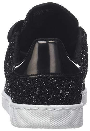 negro Zapatillas 10 Deportivo Bañeras Negro Mujer Glitter Victoria Para 0Aq7tw7C
