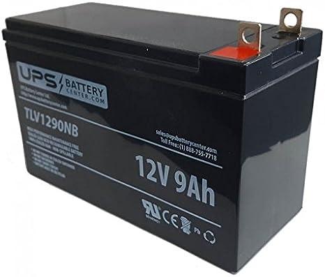 GP8000E UPSBatteryCenter 12V 9Ah NB Compatible Replacement Battery for Generac GP8000E