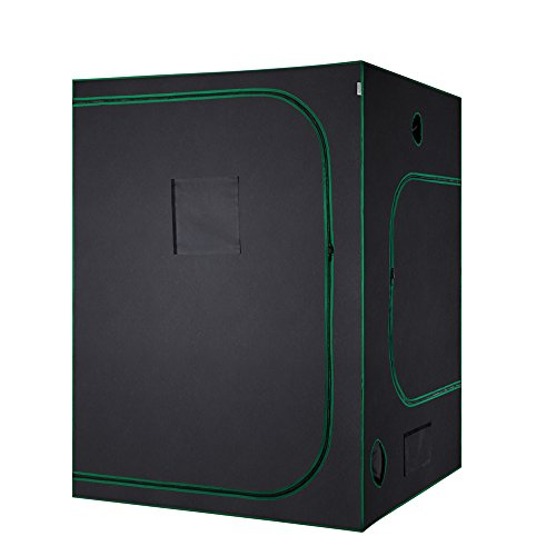 $119.99 indoor grow tent packages MELONFARM Mylar Waterproof Hydroponic 60″X60″X80″ Grow Tent with Removable Floor Tray for Indoor Seedling Pant Growing 5'x5′ 2019