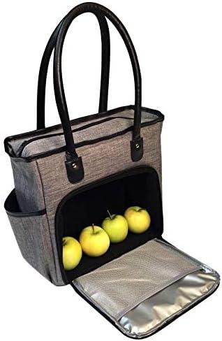 Breakfast Dish Drink Tote Bag Purse Handbag For Women Girls