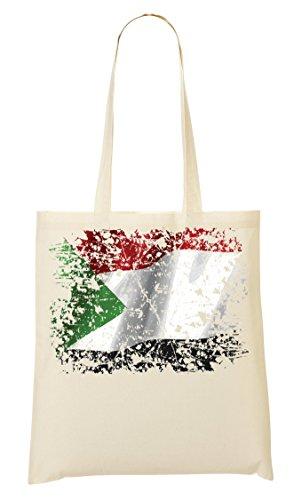 Sudan Bello Paese Bandiera Khartoum La Compra Bolsa Bolso Serie Nazionalità Mano Africa De xwwrnS