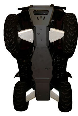Guards Aluminum A-arm (Yamaha Grizzly 660 Aluminum 5 Piece A-ARM /CV Boot Guard Set by Ricochet for 2002, 2003, 2004, 2005, 2006, 2007, 2008 Models)
