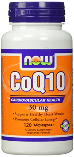 NOW CoQ10 30mg 120 Capsules