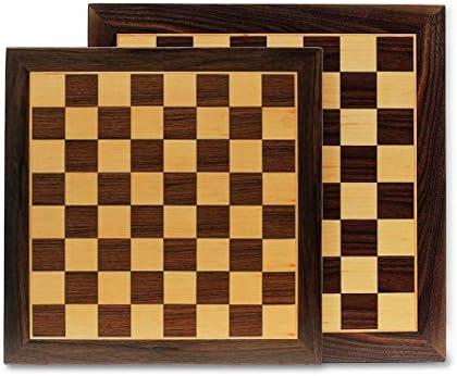 Cayro - Tablero de Ajedrez Marquetería - Juego de Tradicional - Juego de Mesa - Desarrollo de Habilidades cognitivas - Juego de Mesa (613): Amazon.es: Juguetes y juegos