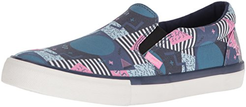 Original Penguin Heren Beckett Sneaker Marine / Wit / Roze / Retro